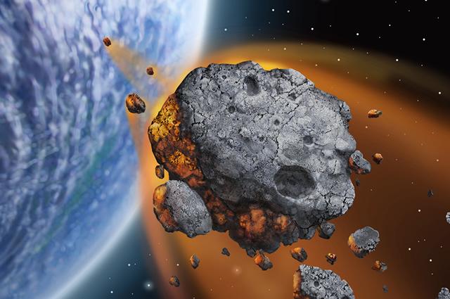 5 known asteroids - photo #37