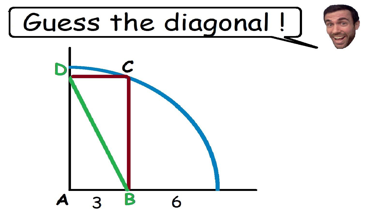 Brain Teaser Guess The Diagonal