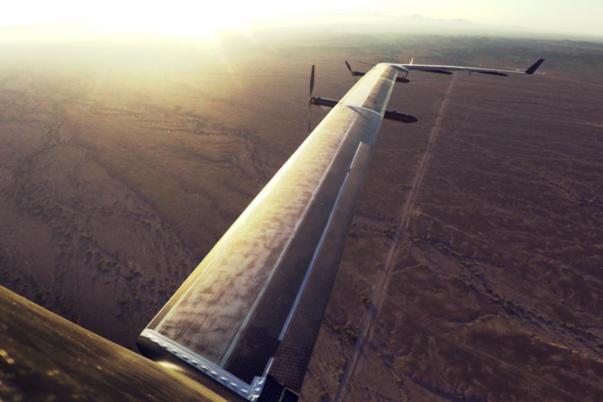 Aquila, Facebook's wi-fi solar plane