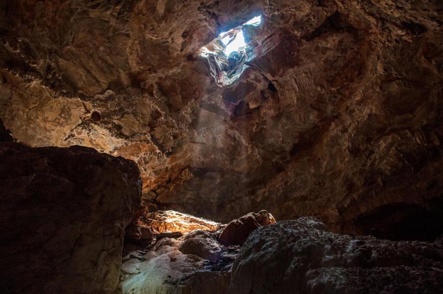 Toca do Geraldo cave, a limestone cave of Bambuí Geomorphological Unit