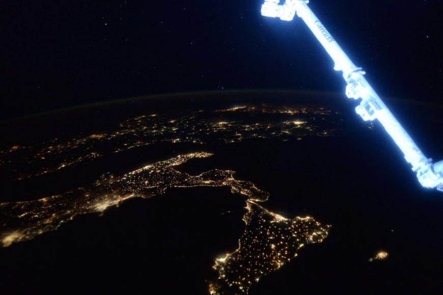 Scott Kelly's photography from the ISS