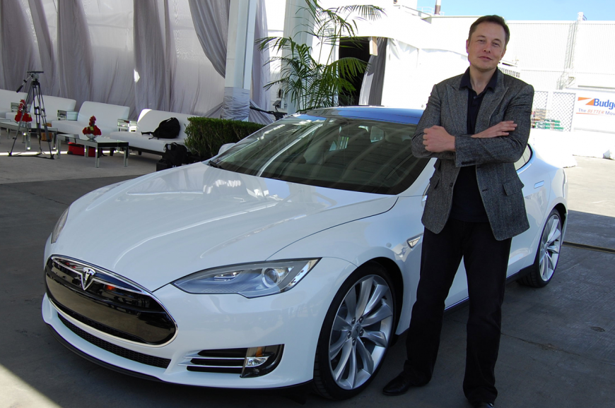 Elon Musk and the Tesla Model S