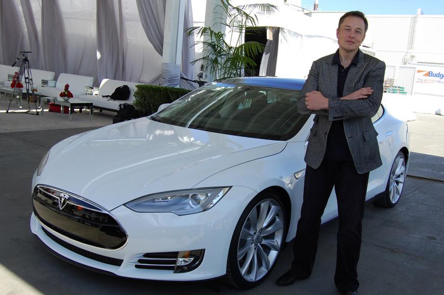 Elon Musk and the Tesla Model S