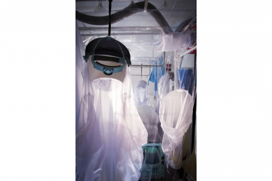 Infectious disease containment unit