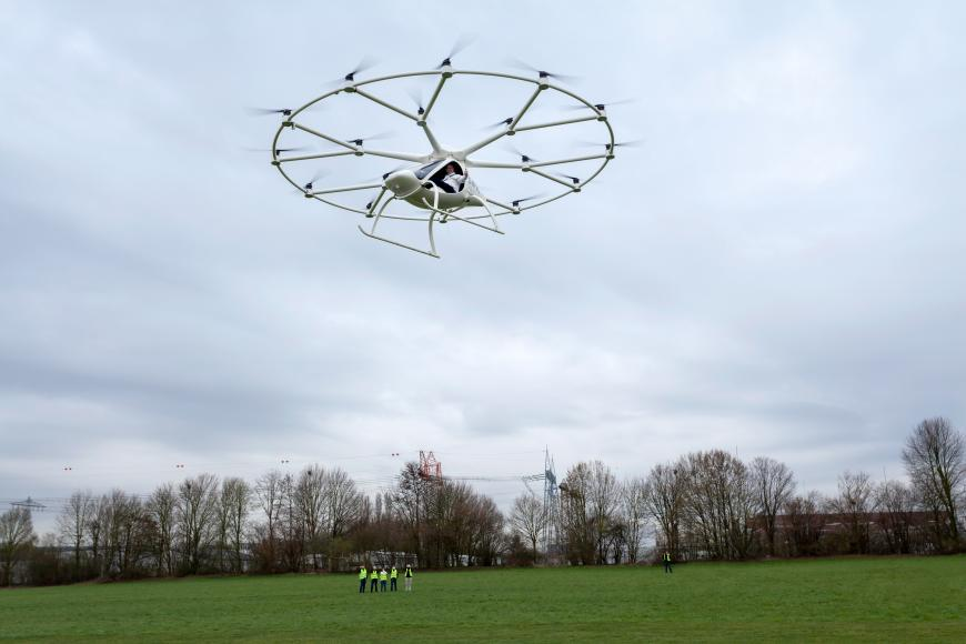 Volocopter, a flying car by E-Volo