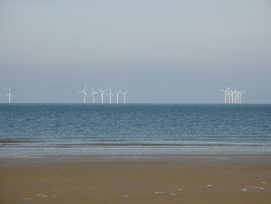 An offshore wind farm