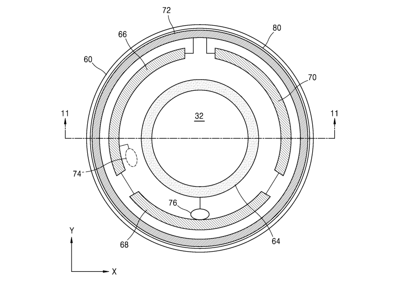 Blueprint for Samsung's smart contact lens