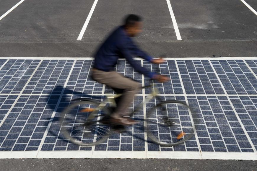 Wattway solar roadway