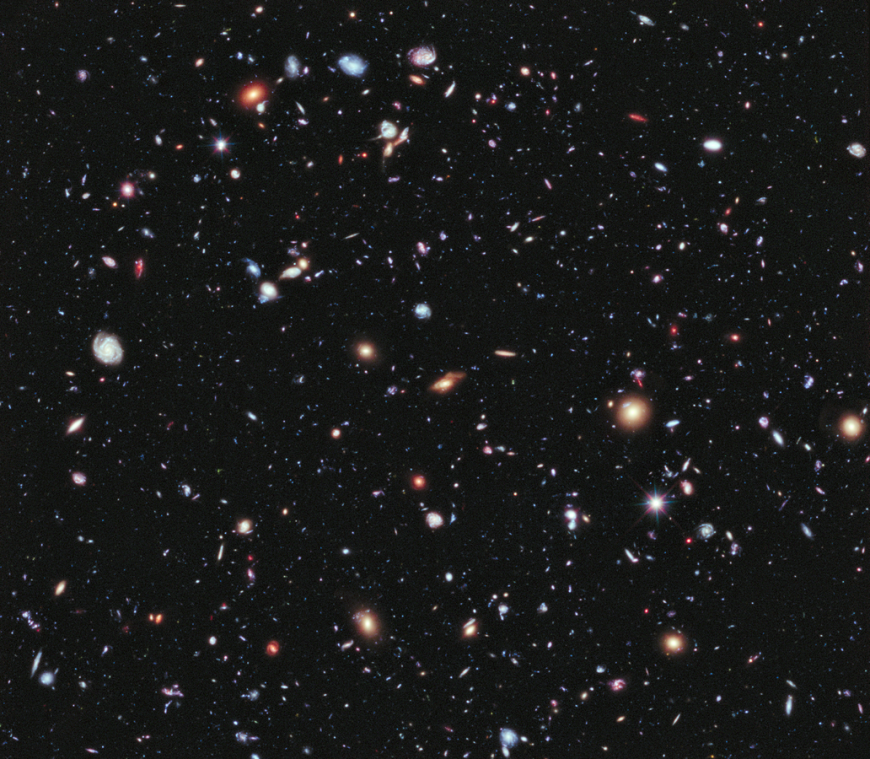 Hubble eXtreme Deep Field (XDF), 2012