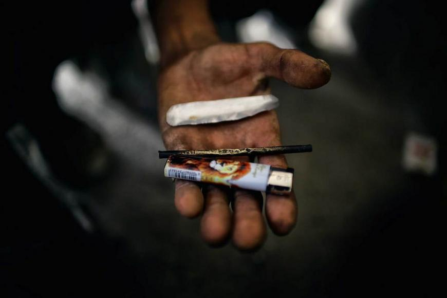 Tools of a heroin user