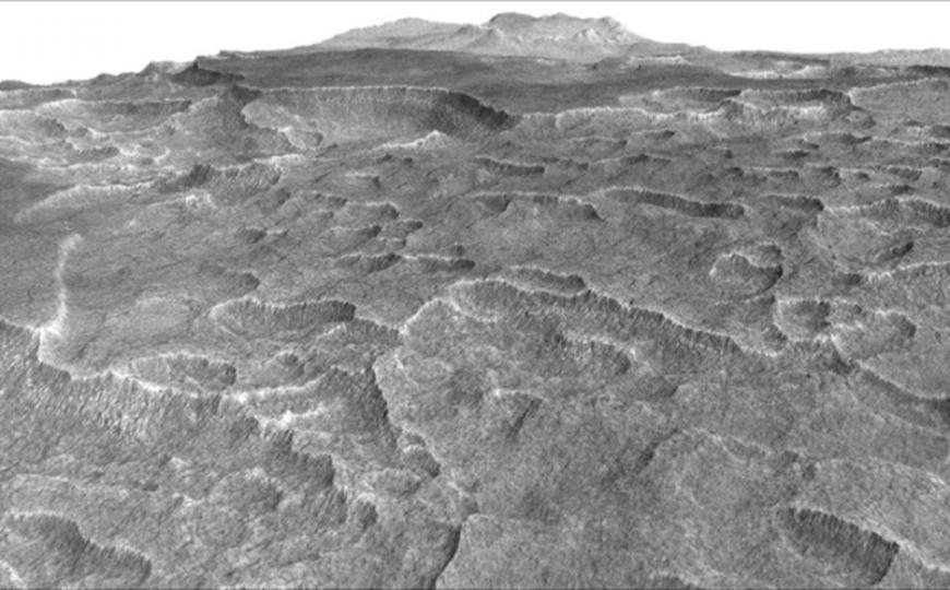 Scientists Find Water Deposit On Mars Bigger Than New Mexico