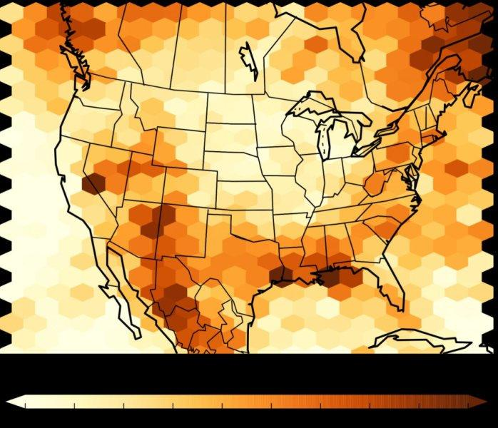 Warming to trigger 3 times as many downpours in US