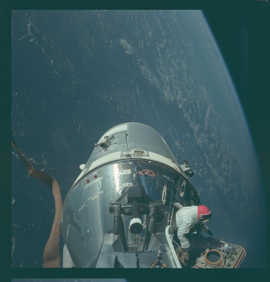 Apollo 9 Earth Orbit