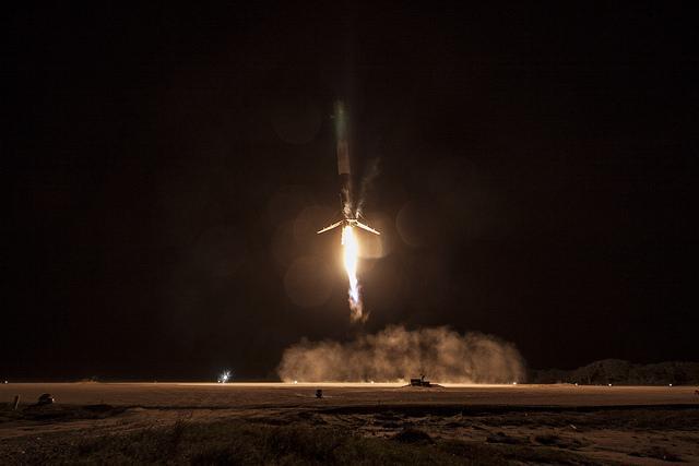 SpaceX Orbital Rocket