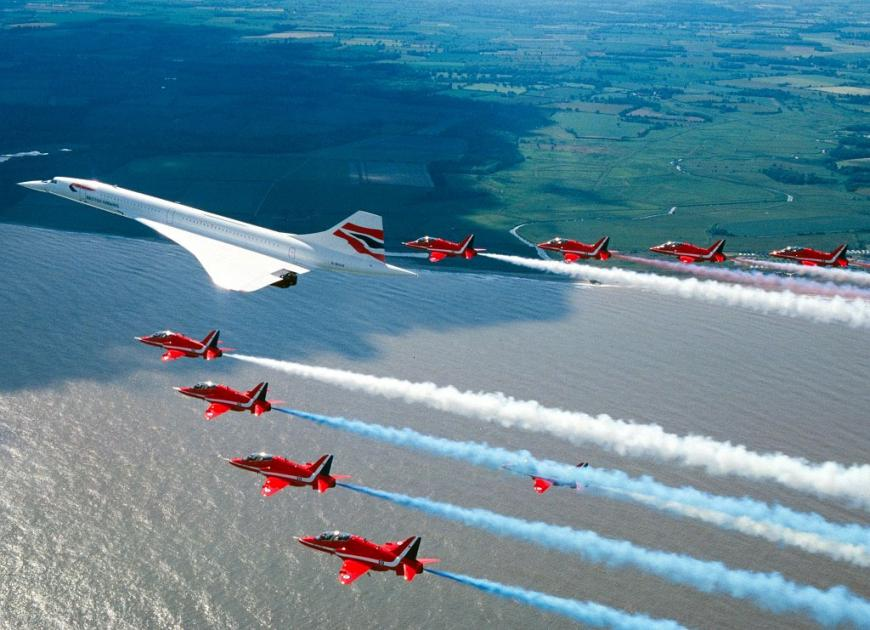 Supersonic Concorde Jet May Return To Skies Within Decade