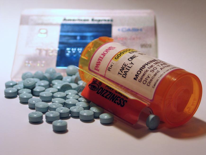 Morphine prescription painkiller