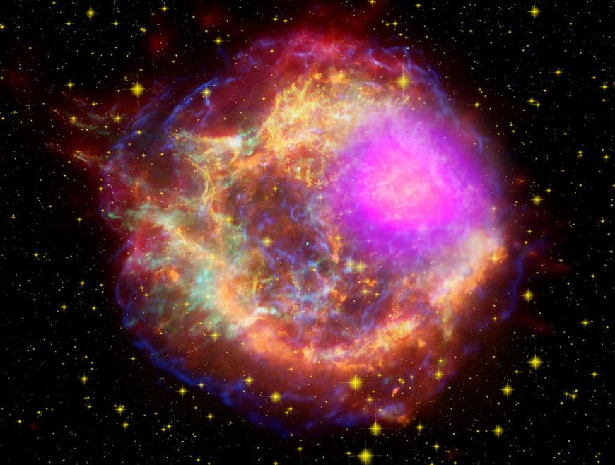 The Cassiopeia A supernova