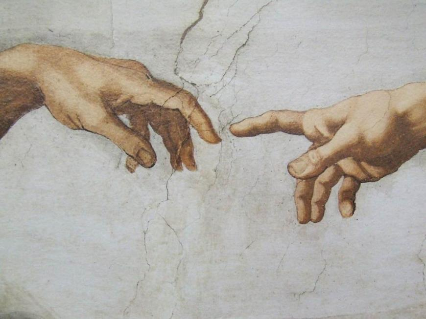 The Creation Michelangelo Vatican Museums Italy