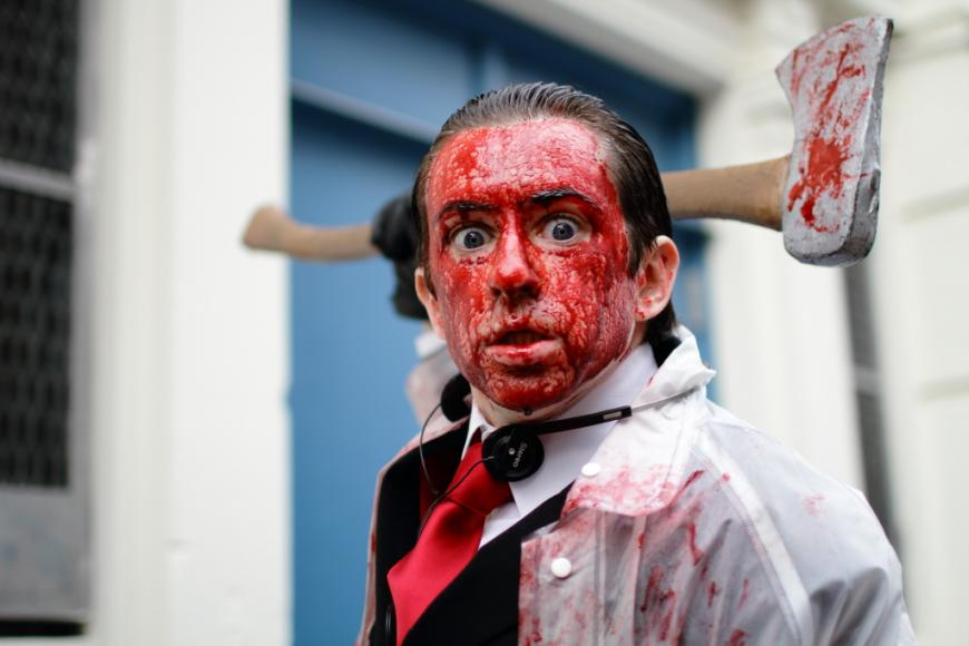 Patrick Bateman costume from American Psycho