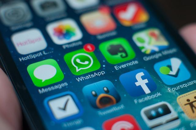 WhatsApp icon on iphone