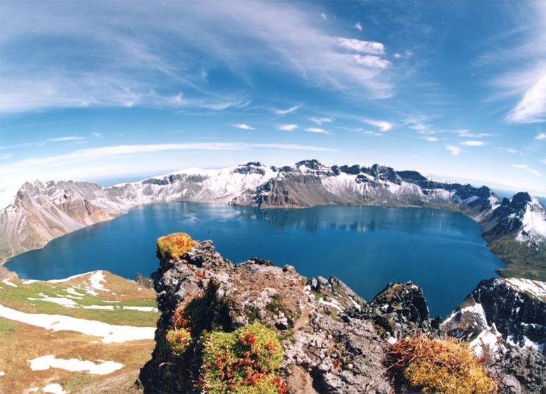 Heaven Lake at Mount Paektu