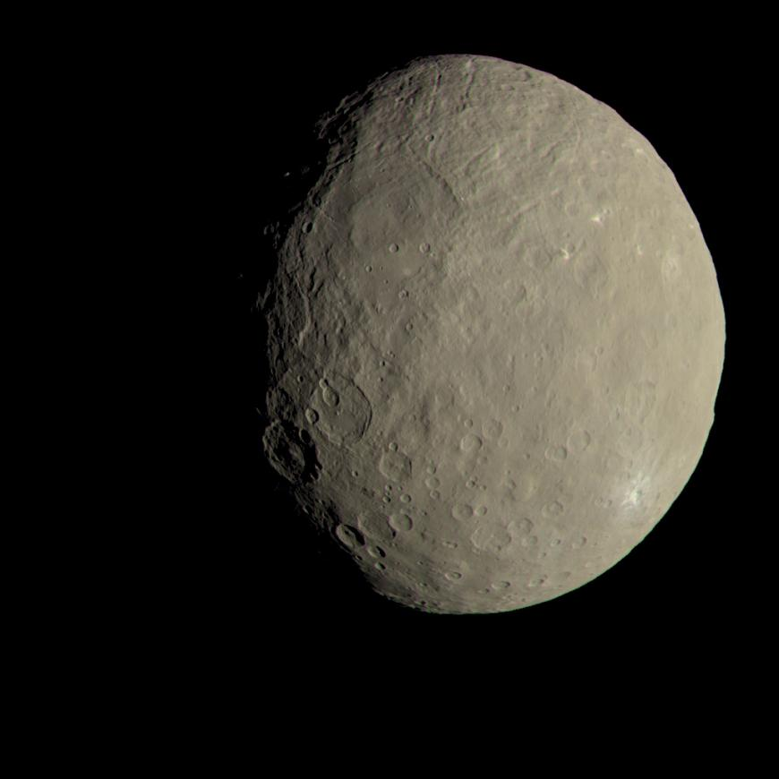 Dwarf Planet Ceres from NASA's Dawn spacecraft