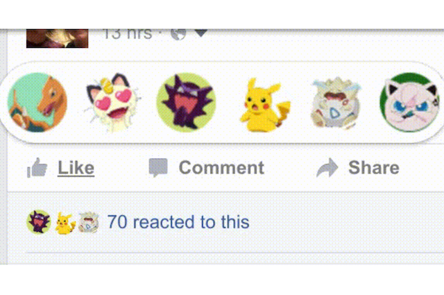 You Can Now Change the Facebook Reaction Emojis to Any Image