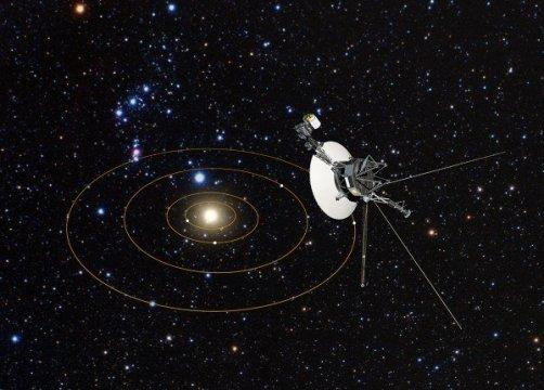 Hubble provides interstellar road map for Voyagers' galactic trek