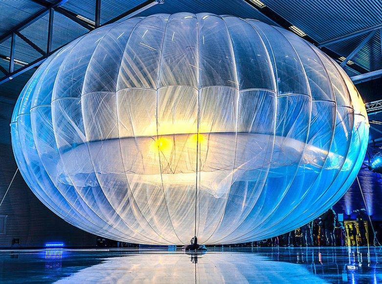 A project loon research balloon
