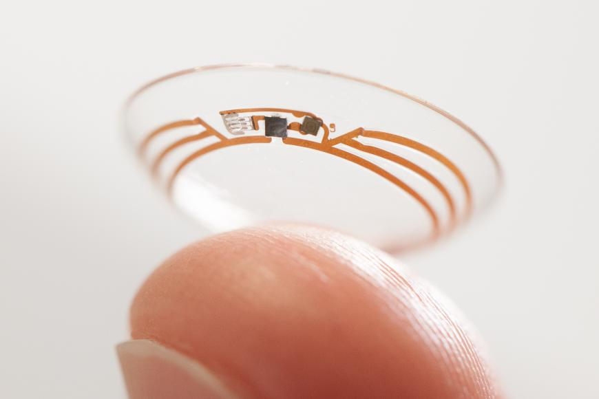 Google's new smart solar-powered contact lens