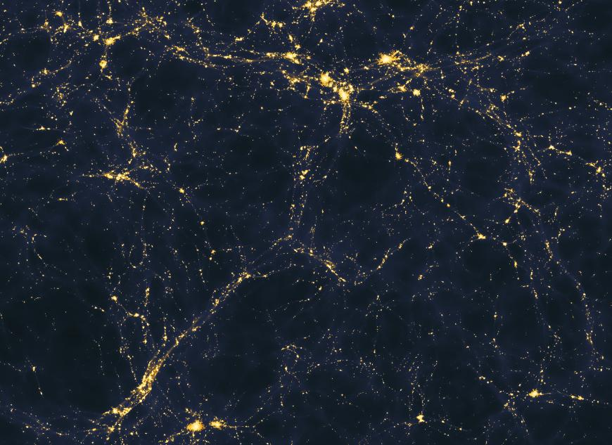Light distribution in the universe