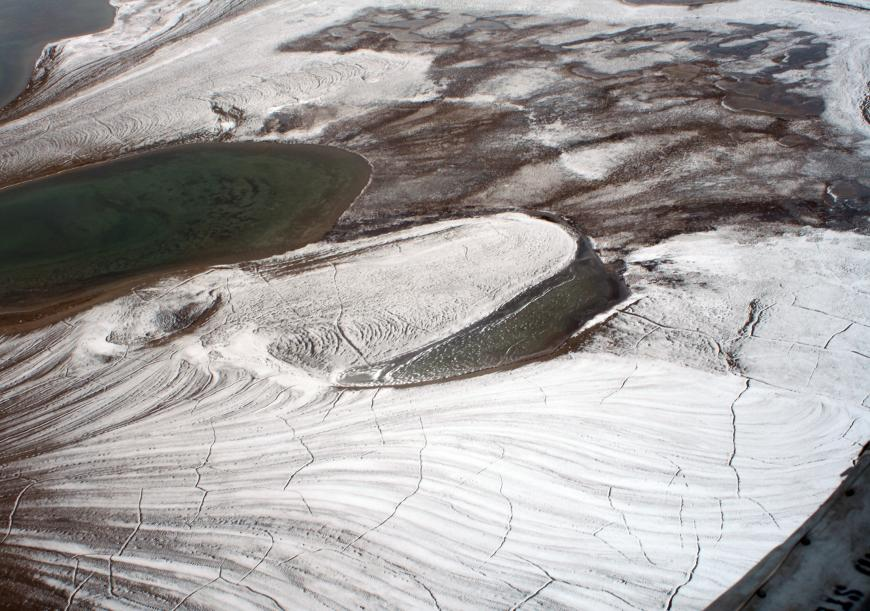 Permafrost in the high Arctic