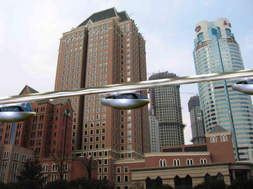 SkyTran concept art