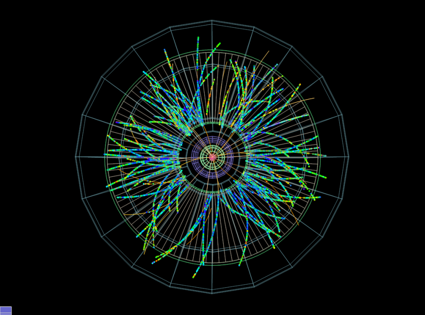 ALICE records first proton-lead collisions at the LHC