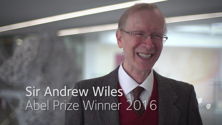 Mathematician Sir Andrew Wiles