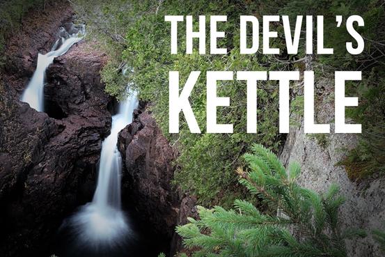 Devil's Kettle waterfalls