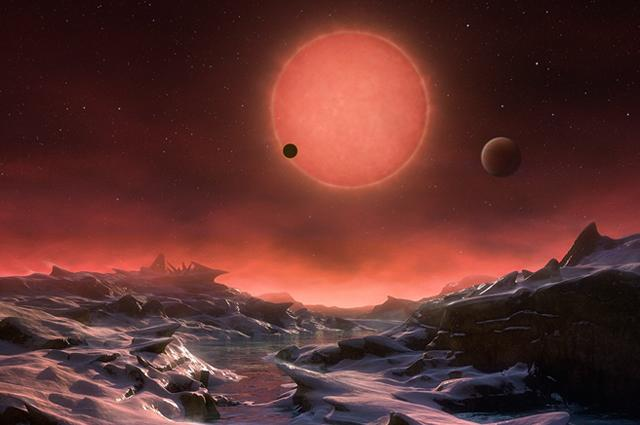 3 exoplanets orbit TRAPPIST-1