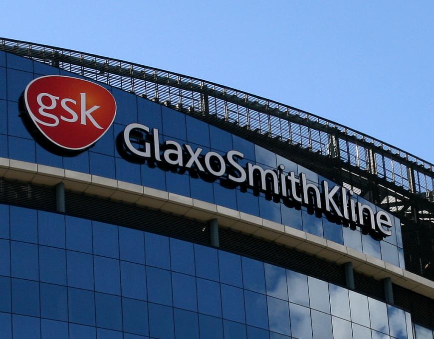 GlaxoSmithKline headquarters located in Brentford, West London