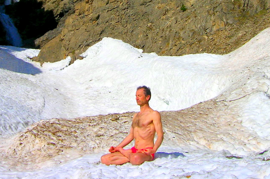 Wim Hof, also known as Iceman