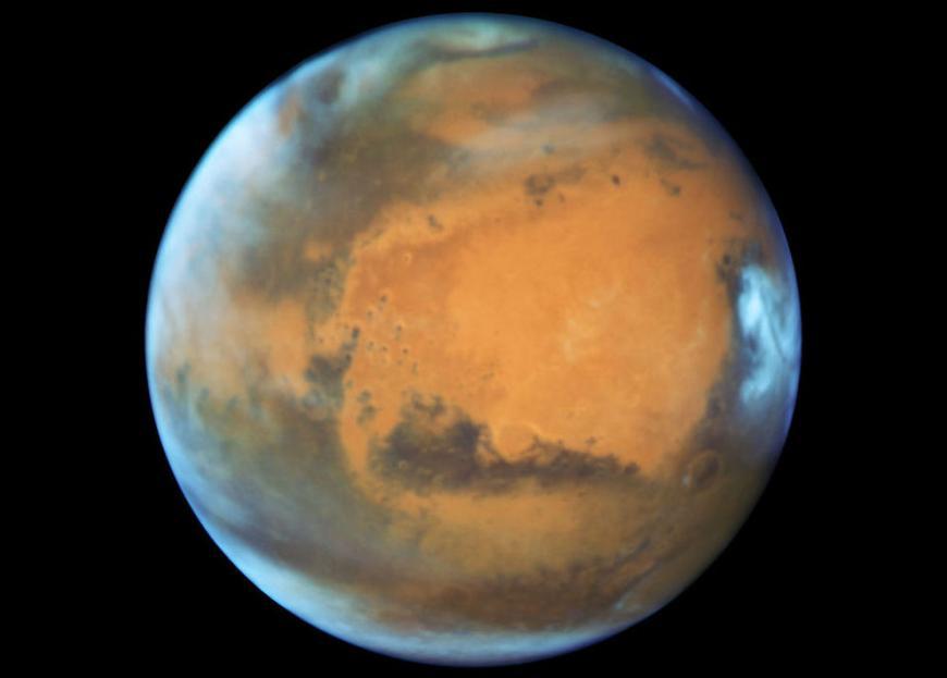 Mars Hubble photo