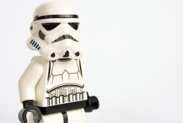 Lego stormtrooper. Star Wars