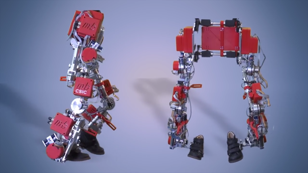 Child exoskeleton to help with spinal muscular atrophy