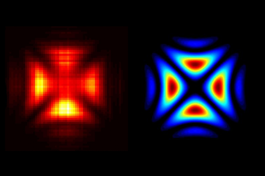 Quantum hologram of a single photon