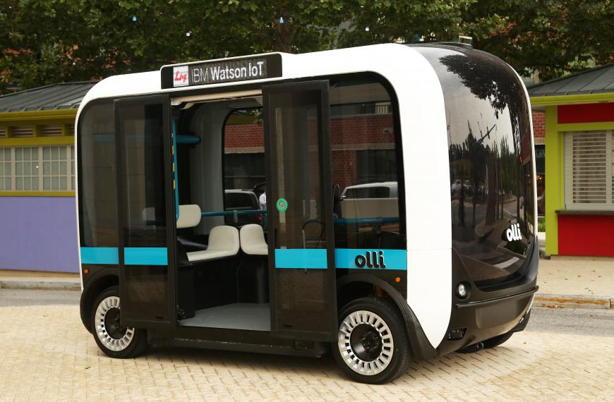OIlli, the self-driving bus by Local Motors