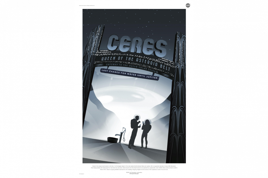 Retro Ceres poster