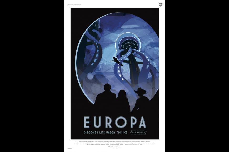 retro europa poster