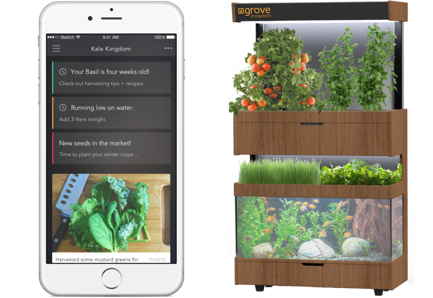 This Futuristic Garden Turns Your Kitchen Into A Mini
