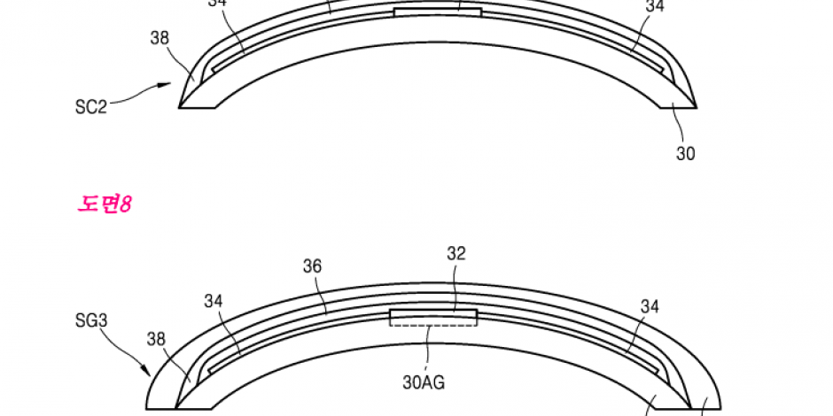 samsung files patent for smart contact lens with a built
