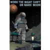 Night owls welcome! If you lived on Mars' moon Phobos, you'd have an office with a view, mining for resources with Mars in the night sky. Settlers below on Mars would see Phobos rise and set not once, but twice in one day!