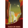 Learning is out of this world! Learning can take you places you've never dreamed of, including Mars and its two moons, Phobos and Deimos. No matter where we live, we can always learn something new, especially with teacher-heroes who guide us on our path, daring us to dream and grow!